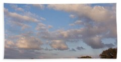 Pasture Clouds Bath Towel