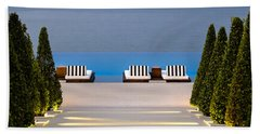 Bath Towel featuring the photograph Path Leading To Heaven by Sotiris Filippou