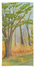 Path Of Trees Hand Towel