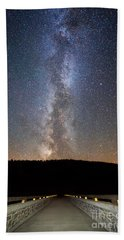 Path To Our Galaxy   Hand Towel