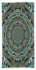 Pattern. Art For Home And Office Hand Towel by Oksana Semenchenko
