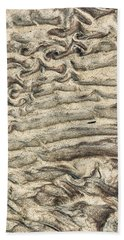 Patterns In Sand 3 Bath Towel