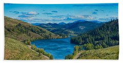 Bath Towel featuring the photograph Patterson Lake In The Summer by Omaste Witkowski