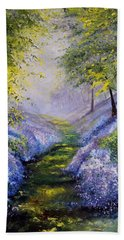 Pavilioned In Splendor Bath Towel by Meaghan Troup