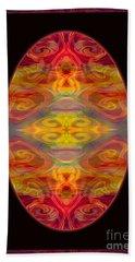 Peace And Harmony Abstract Healing Art Hand Towel