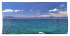 Peace - Lake Tahoe Bath Towel