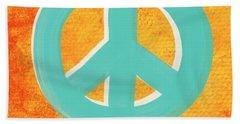Peace Bath Towel