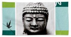 Peaceful Buddha- Zen Art Hand Towel