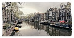 Peaceful Canal Bath Towel
