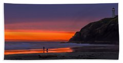 Peaceful Evening Bath Towel by Robert Bales