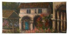 Peaceful Landscape Paintings Bath Towel