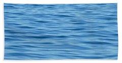 Bath Towel featuring the photograph Peaceful Ocean Ripples by Kristen Fox