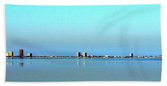 Peaceful Pensacola Beach Hand Towel by Faith Williams