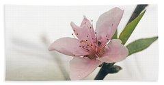 Peach Blossom Bath Towel