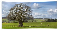 Peak District Tree Bath Towel