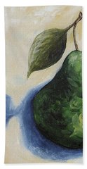 Pear In The Spotlight Hand Towel