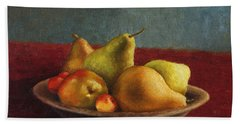 Pears And Cherries Hand Towel