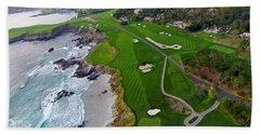 Pebble Beach Golf Course Hand Towel