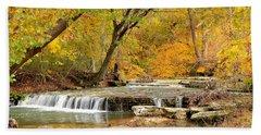 Pedelo Falls Hand Towel by Deena Stoddard