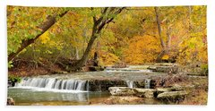 Bath Towel featuring the photograph Pedelo Falls by Deena Stoddard