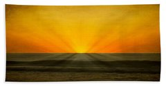 Peeking Over The Horizon Hand Towel