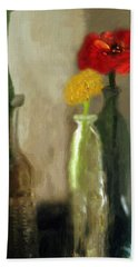 Peggy's Flowers Hand Towel