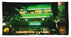 Pelican Hotel Film Image Bath Towel