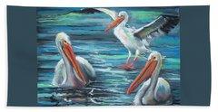 Pelican Profile Bath Towel
