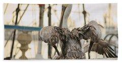 Pelican Strut Bath Towel