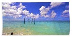 Pelicans Of Aruba Bath Towel