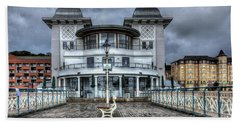 Penarth Pier Pavilion 2 Bath Towel by Steve Purnell