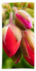 Hand Towel featuring the photograph Pending Beauty by Deb Halloran