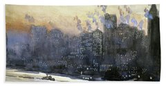 Pennell New York City, 1924 Hand Towel