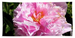 Peony Hand Towel by Sher Nasser