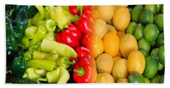 Peppers To Pucker Bath Towel