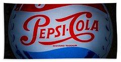 Pepsi Cap Sign Hand Towel