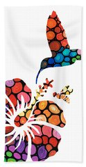 Perfect Harmony - Nature's Sharing Art Bath Towel