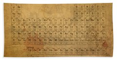 Periodic Table Of The Elements Hand Towel