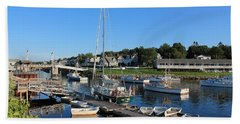Perkins Cove Ogunquit Maine 2 Bath Towel