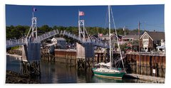 Perkins Cove Ogunquit Maine Hand Towel