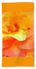 Petaled Perfection Bath Towel