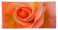 Petals Of Peach Bath Towel