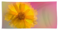 Petals Of Sunshine Hand Towel by Fred Larson