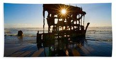 Peter Iredale Shipwreck, Fort Stevens Hand Towel