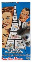 Petit Basset Griffon Vendeen Art Canvas Print - Count Your Blessing Movie Poster Hand Towel