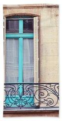Petit - Parisian Balcony  Bath Towel