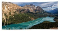 Peyto Lake Bath Towel