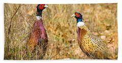 Pheasant Friends Hand Towel
