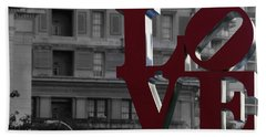 Philadelphia Love Bath Towel
