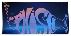 Phish Bath Towel